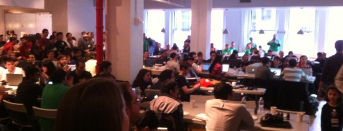 General Assembly East is one of Silicon Alley, NYC.