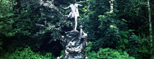 Peter Pan Statue is one of London, somewhat....