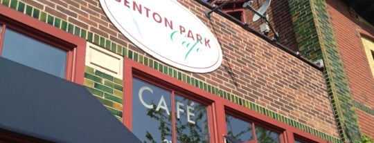 Benton Park Cafe & Coffee Bar is one of st.louis patio.