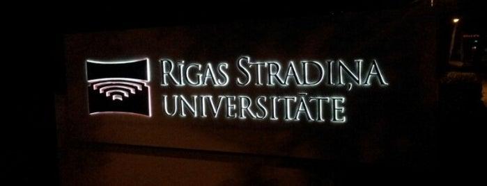 Rīgas Stradiņa universitāte   RSU is one of Foursquare LV BrandPages HQ.