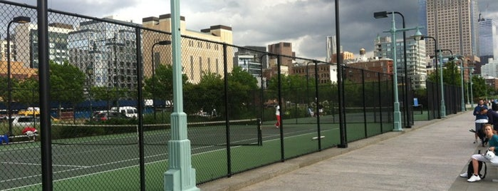 Hudson River Park Tennis Courts is one of New York.