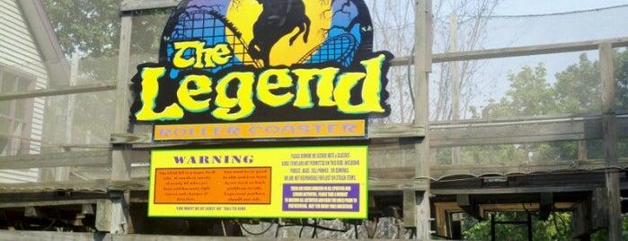 The Legend is one of Posti che sono piaciuti a Andy.