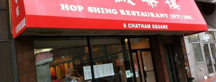 Hop Shing Restaurant 合誠茶樓 is one of New York 101.