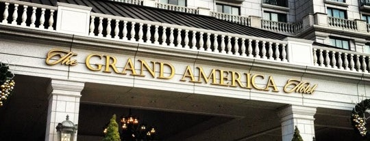 The Grand America Hotel is one of Quick UT Request.