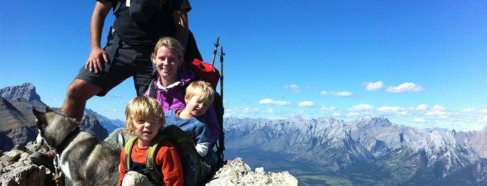 Ha Ling Peak is one of Alberta.
