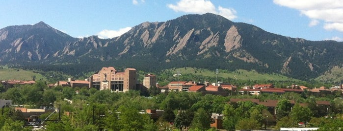 Universidad de Colorado en Boulder is one of shopping.