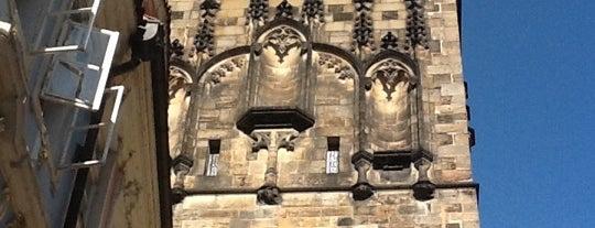 Tours du pont Charles côté Malá Strana is one of StorefrontSticker #4sqCities: Prague.