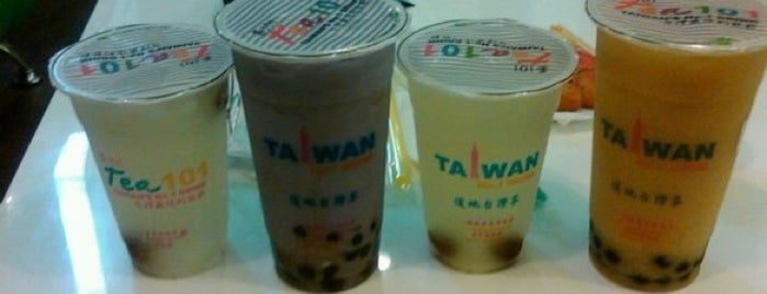 Tea 101 is one of Tomas Morato - Timog Hangouts.