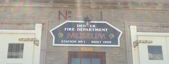 Denver Firefighters Museum is one of Fun Things To Do in Denver, Colorado.