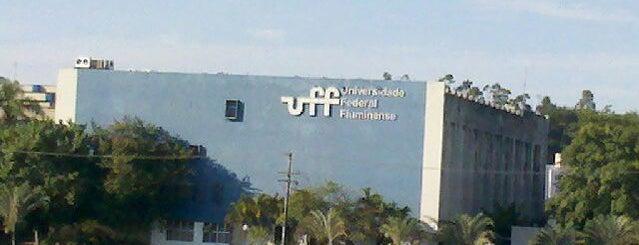 UFF - Universidade Federal Fluminense is one of Rio de Janeiro.