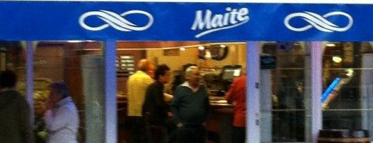 Bar Maite is one of Lugares favoritos de Andoni.