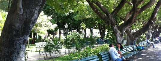Praça dos Mártires (Passeio Público) is one of Monica : понравившиеся места.