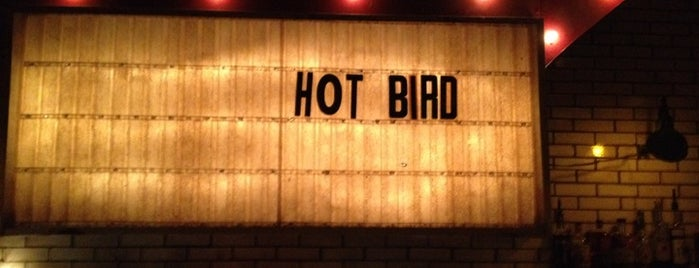 Hot Bird is one of places to return to (1 of 4).