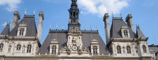 Hôtel de Ville de Paris is one of  Paris Sightseeing .