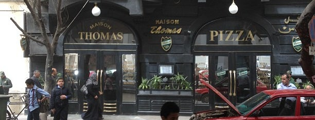 Maison Thomas is one of Cairo B4.