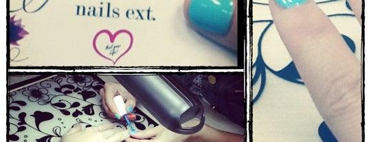 Студия ногтевого сериса nails ext. is one of Anna's Liked Places.