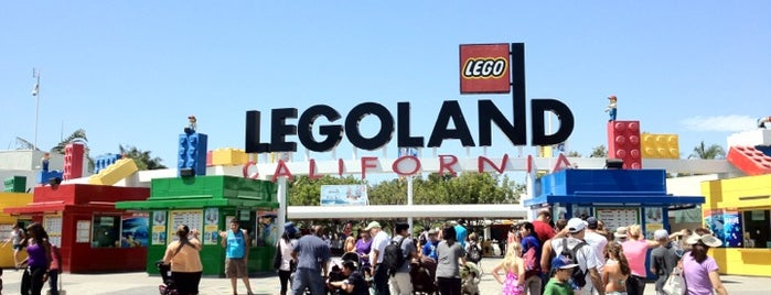Legoland California is one of 75 Geeky Places to Take Your Kids.