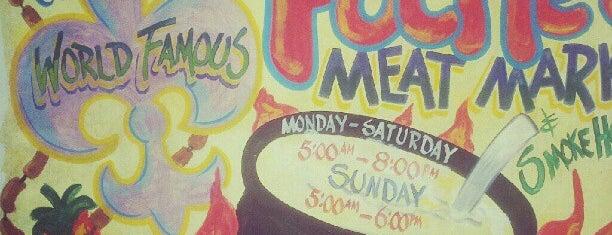 Poche's Market & Restaurant is one of Louisiana.