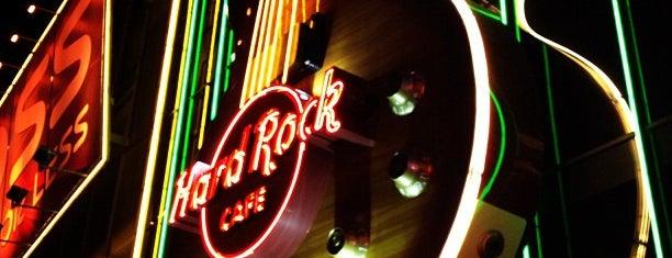 Hard Rock Cafe Las Vegas is one of viva las vegas.