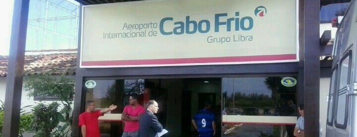 Aeroporto Internacional de Cabo Frio (CFB) is one of Aeroporto.