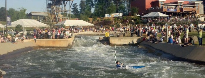 U.S. National Whitewater Center is one of Charlotte Favorites.
