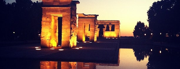 Templo de Debod is one of The Best Of Madrid.