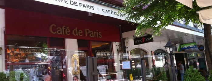 Café de Paris is one of Tempat yang Disukai Rose.