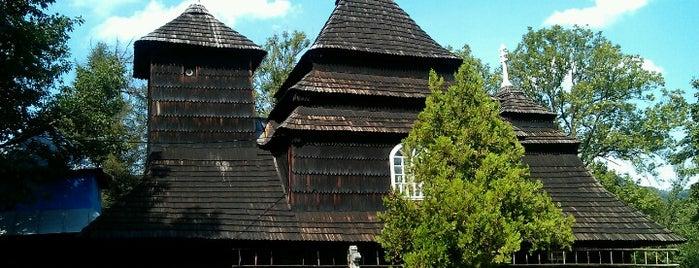 Дерев'яна Церква св. Михайла, 1745 р. is one of UNESCO World Heritage Sites in Eastern Europe.