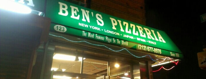 Ben's Pizzeria is one of Food.