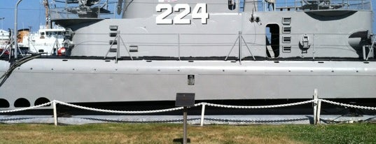 USS Cod (SS-224) Submarine Memorial is one of Out and About in Cleveland.