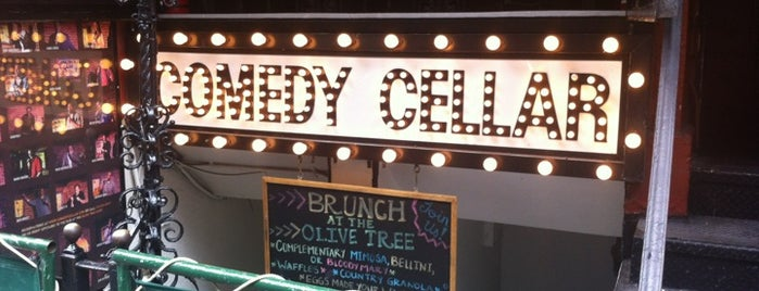 Comedy Cellar is one of NY.