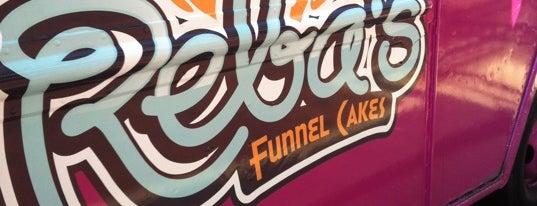 Reba's Funnel Cake is one of Washington DC Food Trucks.