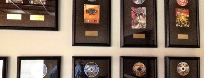 Firaxis Games is one of Lugares favoritos de Ethan.