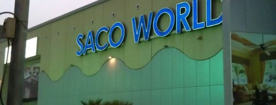 Saco World is one of Locais salvos de Queen.