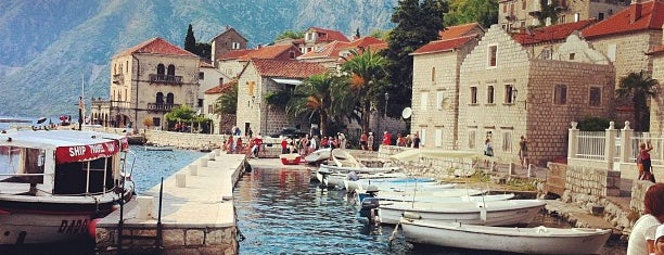 Perast is one of Lieux qui ont plu à Leila.