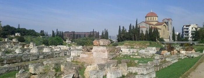 Archaeological Site of Kerameikos is one of Eurotrip 2018 - Athens.