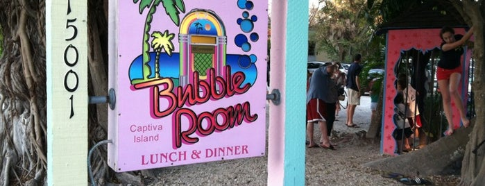 The Bubble Room is one of Lukas' South FL Food List!.