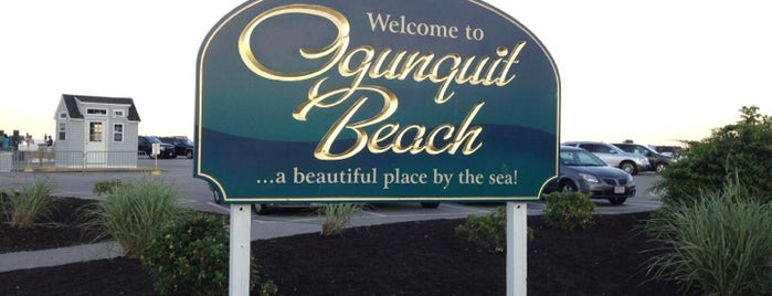 Ogunquit Beach is one of New England Vacation.