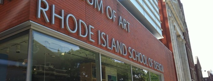 The RISD Museum of Art is one of Providence.