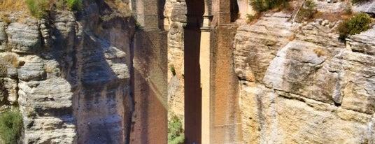 Puente Nuevo de Ronda is one of Mai Andalucia.