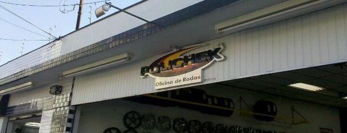 Polichek Rodas e Pneus is one of สถานที่ที่ Caio Weil ถูกใจ.