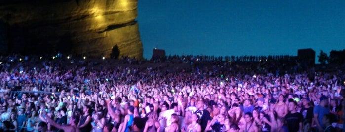 Red Rocks Park & Amphitheatre is one of Concert Venues.