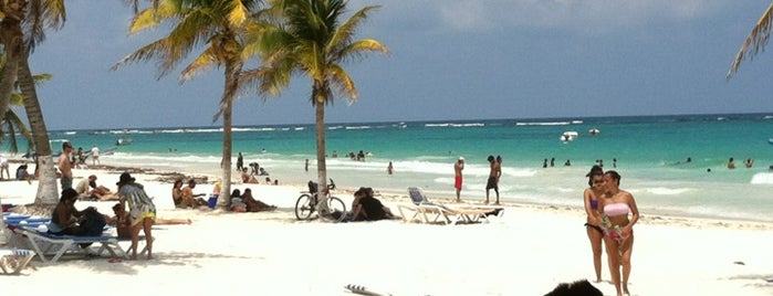 Playa Paraiso is one of Cancún, MEX.