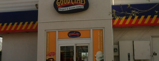 Good Times Burgers & Frozen Custard is one of Locais curtidos por Anthony.