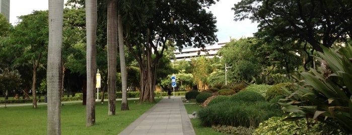 Ayala Triangle Gardens is one of Makati City.