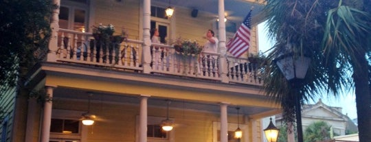 Poogan's Porch is one of Savannah/Charleston.
