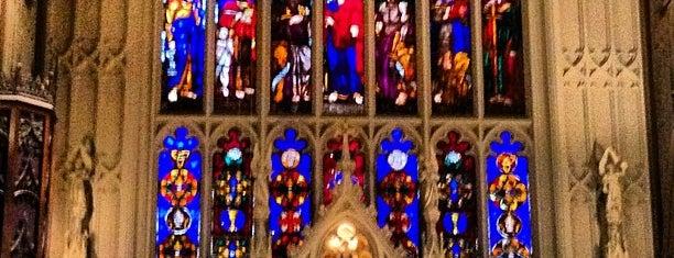 Trinity Church is one of New York, New York.