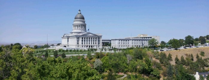 Capitol Hill is one of Salt Lake City.