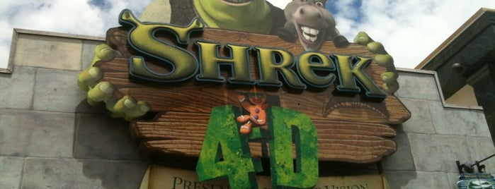 Shrek 4-D is one of Orlando/2013.