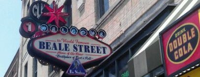 World Famous Beale Street is one of Memphis.